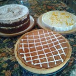 Cakes at workshop, self catering Shropshire